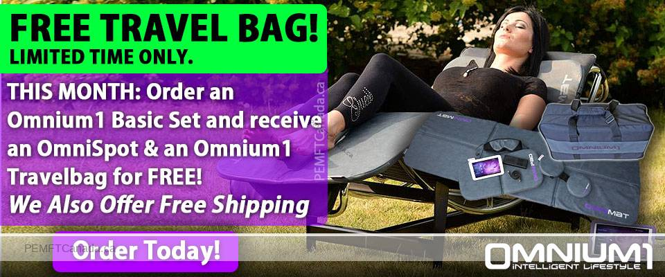 PEMFT CANADA - Jan 2018 Promotion: Omnium1 Basic Set + Free Bag