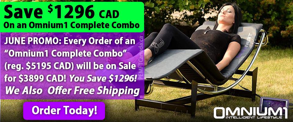 PEMF Canada - June Offer - Omnium1 pemf device for sale
