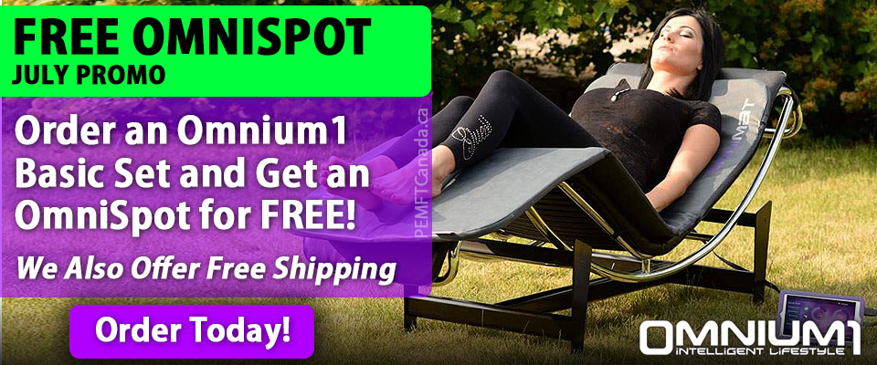PEMF Canada - July Sale - Omnium1 PEMF Mat